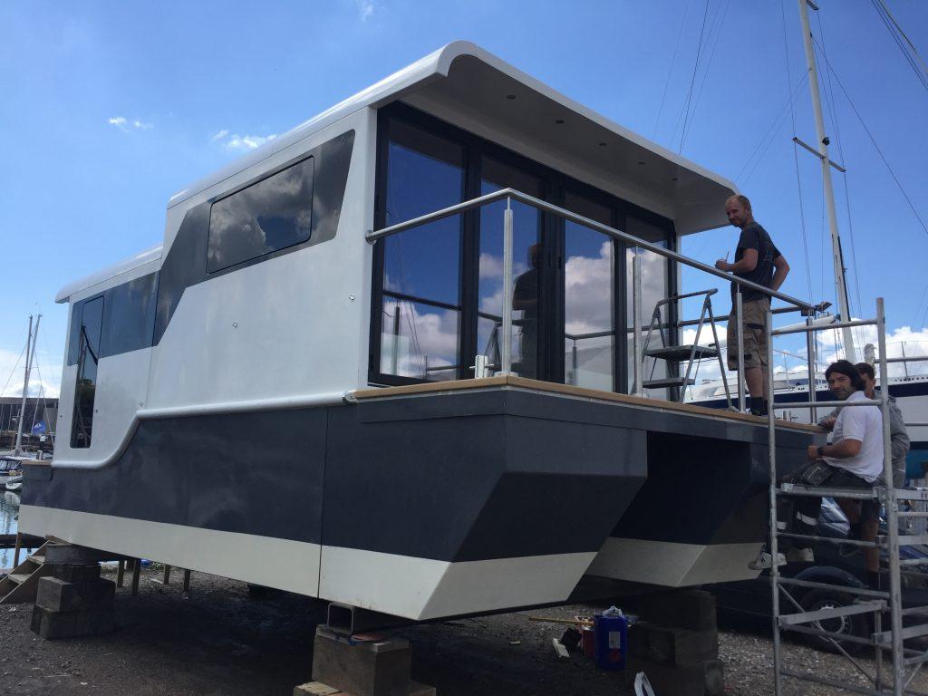 Finished Marina Boat